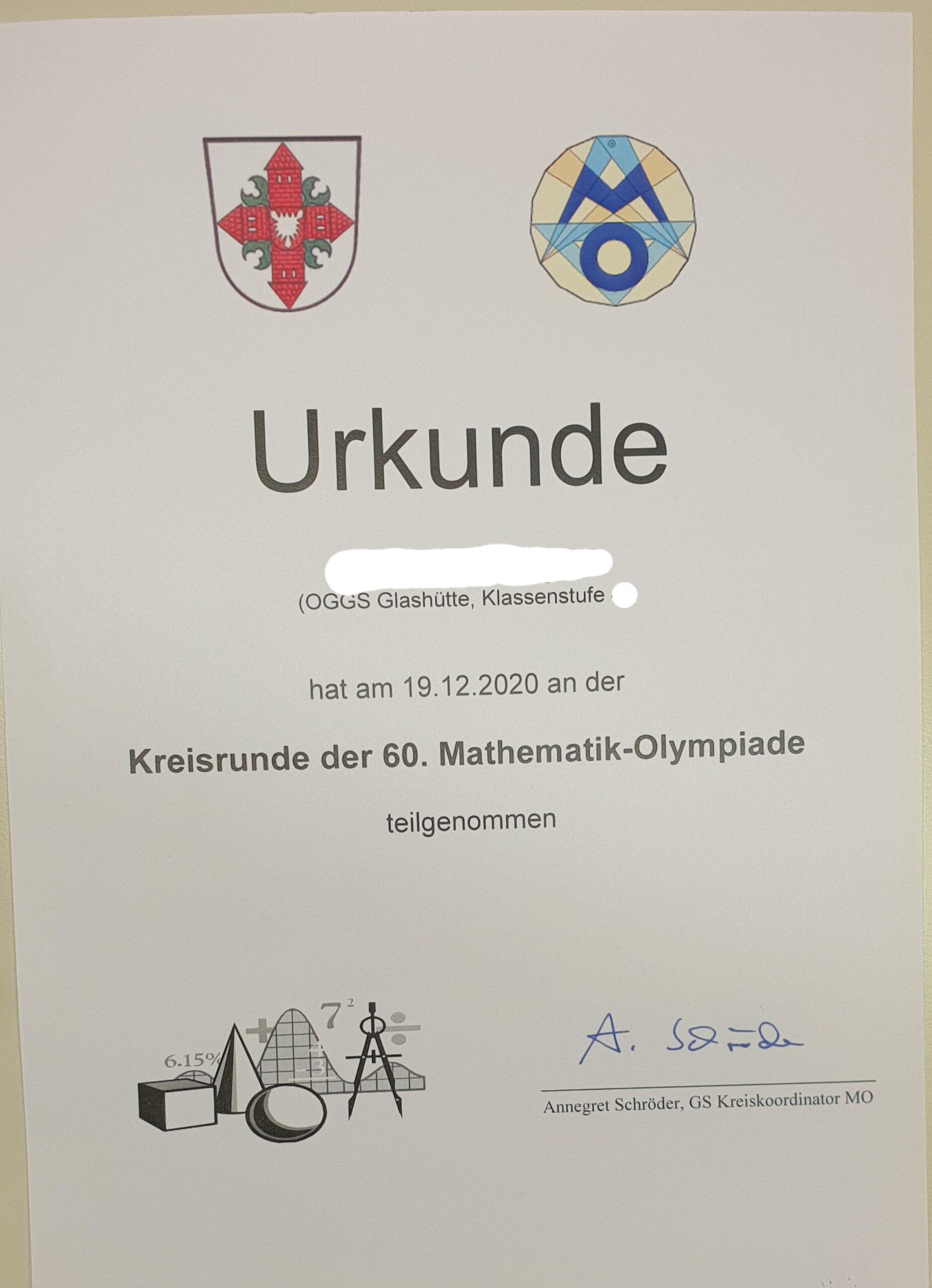 Mathe-Olympiade