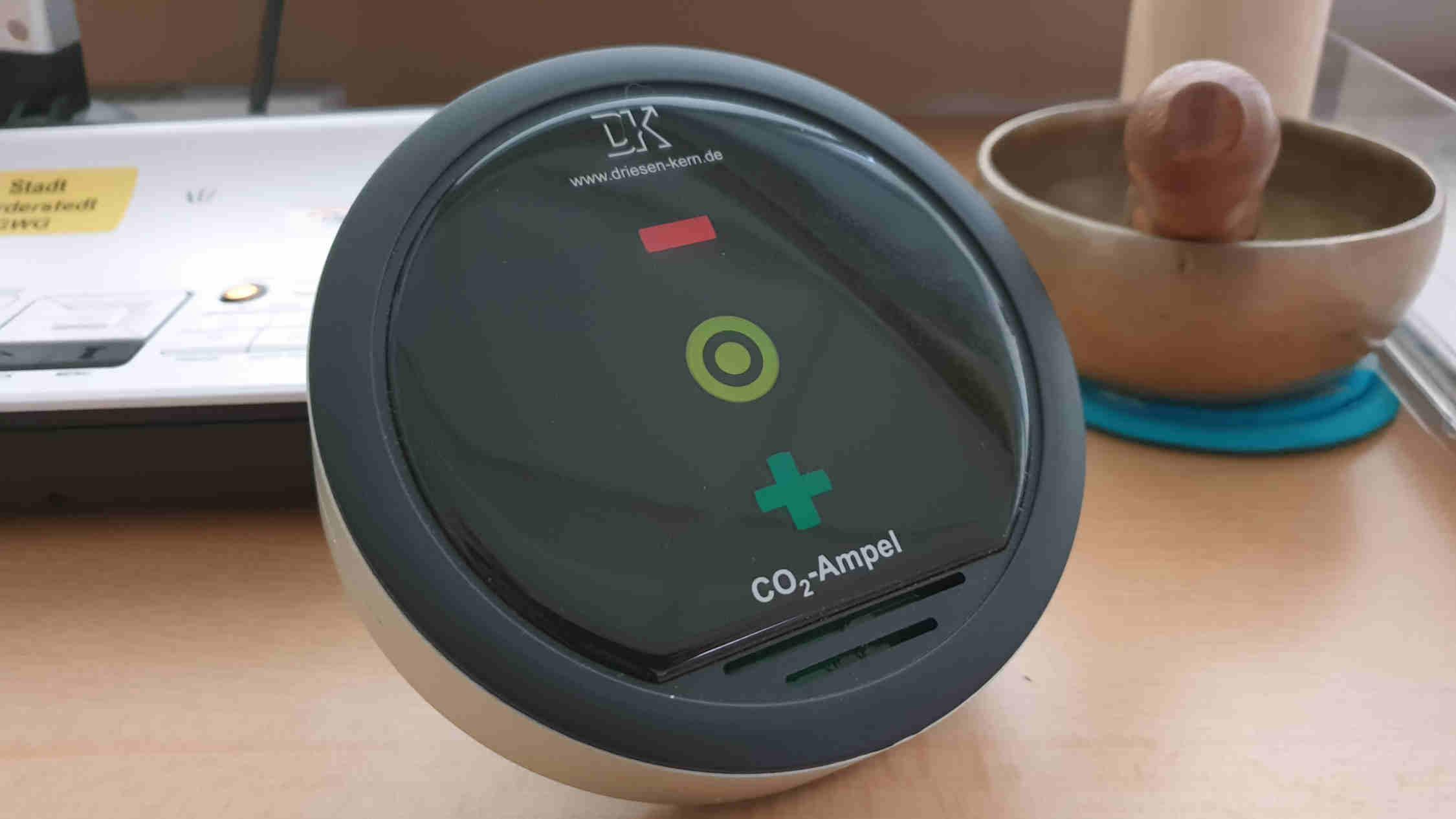 CO2 – Geräte in allen Klassen Hilfe beim Lüften