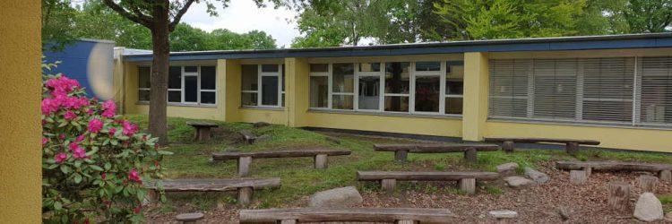 Außengelände Gruens Klassenzimmer
