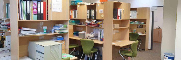 Rundgang Lehrerarbeitsraum